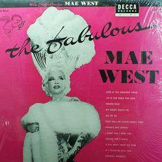 Vintage Vinyl Record The Fabulous Mae West Decca by jammatun1, $4.99