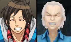 Junpei's Cheshire Cat grin