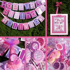 Items similar to Butterfly Birthday Party Decorations Package - Flutter On Over on Etsy First Birthday Parties, Birthday Party Decorations, First Birthdays, Birthday Ideas, Happy Birthday, Butterfly Garden Party, Butterfly Birthday Party, Butterfly Decorations, Party Time
