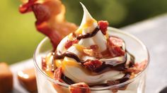 Bacon sundae. Ufff.