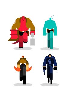 Bunka - Graphic Design Hellboy
