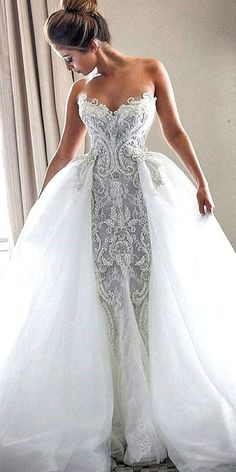 sweetheart vintage lace wedding dresses