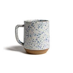 Speckled ceramic mug cloud 1