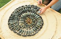 Lay Out the Mosaic Art : More At FOSTERGINGER @ Pinterest