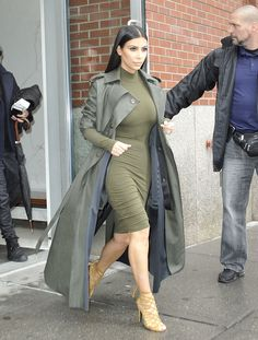 This Day in Shoe History: Not yet pregnant, Kim Kardashian West did her best not to look silly in New York