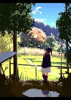 「晩秋」/「荻pote」