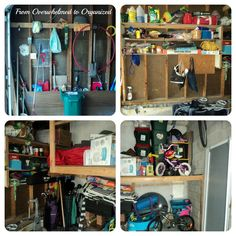 From Overwhelmed to Organized: Garage Clean Out Part 1