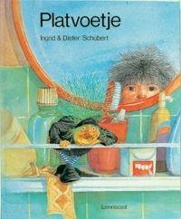 Ingrid & Dieter Schubert.  Platvoetje. Germany. Children's books with beautiful drawings.