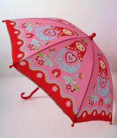 Matryoshka Umbrella Russian Nesting Dolls- Matriochka-Babushka www.matrioskas.es