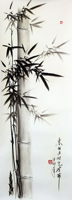 Japanese Bamboo Drawings | Approximate Measurements