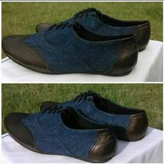 semi Denim-Leather men shoes going for 1500.CONTACT 0719571991 to order.