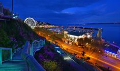 Torquay Voted Top Seaside Destination in England By Trip Advisor English Riviera News Devon Uk, Devon And Cornwall, Holiday Places, Holiday Destinations, Terrace Garden, Stay The Night, Far Away, Holiday Travel, Places To See
