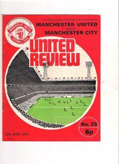 1973/4  Manchester United v Manchester City (Relegation Match)