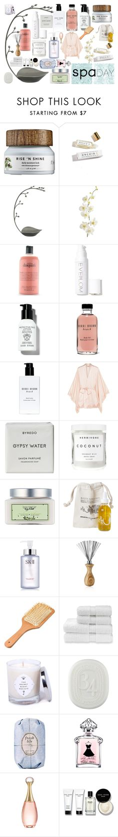 """""""Because We All Need A Little Spa Day..."""" by lovefinn27 ❤ liked on Polyvore featuring Herbivore, Umbra, Pier 1 Imports, philosophy, Eve Lom, Bobbi Brown Cosmetics, Agent Provocateur, Byredo, Laura Mercier and Roots Rose Radish"""