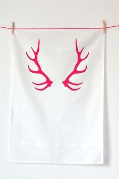 Oh Deer Tea Towel, $19, Koromiko -- hostess gifts and stocking stuffers