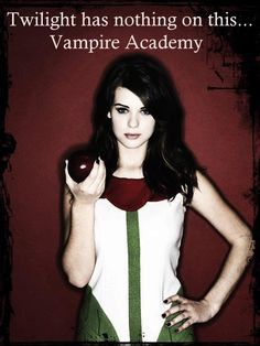 vampire academy...yes I'm a dork but these books are so good!!!!! Bloodlines rocks as well!