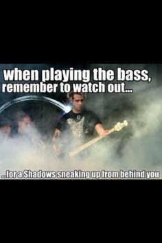 Watch your back Johnny Christ! M. Shadows is right behind you! Silly A7X! I love this, it never fails to make me laugh. foREVer!