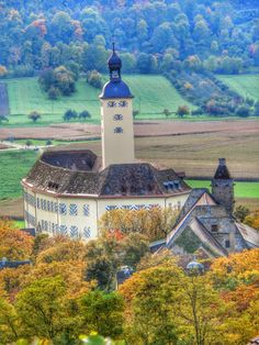 Horneck Castle is located in the town of Gundelsheim, Baden-Wurttemberg, in southwest Germany.Photo: Despina1970 - Google+
