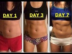 4 simple exercises to get the perfect belly in just 4 weeks!