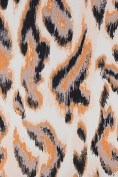 Indiesew.com | Abstract Animal Print Georgette by Sewing Pattern