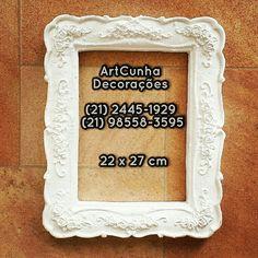 Moldura 22 x 27 cm ArtCunha Decorações (21) 2445-1929 / 98558-3595 Est. Bandeirantes, 829, Taquara, Rio de Janeiro, RJ  #moldura #molduras #decoração #decoracao #decorando #decorar #artesanato #gesso #jacarepaguá #jacarepagua #barradatijuca #recreiodosbandeirantes #blogdecor #rioguiaoficial #achados #rioetc #021rio #bomdia #boatarde #boanoite #parede #quarto #corredor #tijuca #niterói #niteroi #arquiteturadeinteriores #novidades #artes #espelho