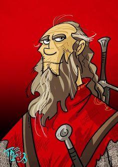 Thoros of Myr by Тхе Мичо