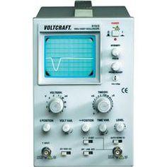 VOLTCRAFT® 610/2 Analoges 1-Kanal Oszilloskop, Bandbreite 0 (DC) - 10 MHz