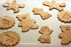 Biscuiti de turta dulce decupati Yams, Cheesecakes, Gingerbread Cookies, Recipies, Food And Drink, Health Fitness, Homemade, Vegan, Desserts