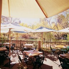 The River Cafe is nestled in Prince's Island Park. One of my favourite patios in the City!