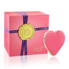 Vibrators - Modern Vibrators - Valentine's Day - Rianne S Heart Coral Rose Pink Vibrator - SexToysShop.com