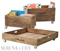 underbed timber storage wheels - Google Search