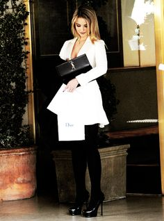 Dianna Agron in Dior Diana Argon, Ysl, Fashion Outfits, Womens Fashion, Night Out, Dior, Celebrity Style, Feminine, Glamour