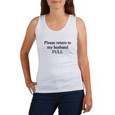Please Return to Husband.png Womens Tank Top