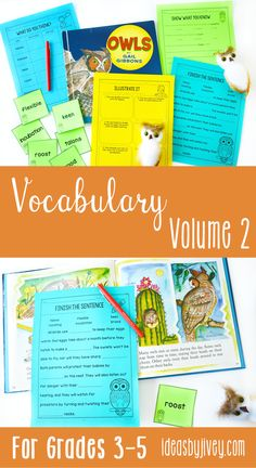Teaching vocabulary in elementary school can be highly engaging! Click the pin the check out these vocabulary activities that teach vocabulary using mentor texts in your classroom.
