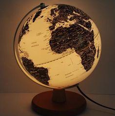 Comprar bolas del mundo iluminadas desde el interior | Tienda de lámparas, lámparas de LED, ventiladores de techo, decoración
