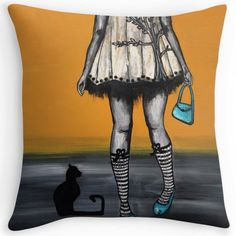 Studio Door cushions. Quirky and unique. Let colour psychology take control of you and befriend the emotions. Tootsie and Toto.