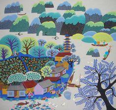 研究 |金山農民画 中国農民画の紹介サイト