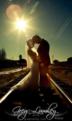 beautiful railway track shot