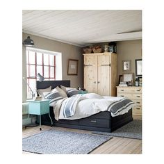 BJÖRNLOKA Dekbedovertrek met 2 slopen - 240x220/50x60 cm - IKEA