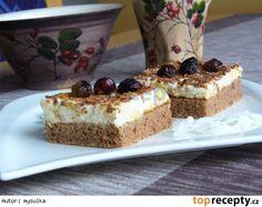 Jablečné hrk - hrk řezy Tiramisu, Cheesecake, Pudding, Treats, Ethnic Recipes, Sweet, Cross Stitch, Hampers, Sweet Like Candy
