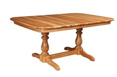 Amish Canfield Dining Table | Pedestal Tables | Amish Dining Room Tables 7970