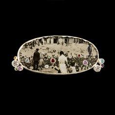 ANNA FANIGINA-LV. SAGĖ. Sidabras, auksas, topazas, ametistas, safyras, briliantas, stiklas, chrizolitas, citrinas, fotografija Venecija 1924 | ...