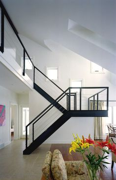 Modern Staircases Design, Pictures, Remodel, Decor and Ideas - page 6