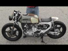 """""""Low and Mean"""" Cafe Racer 500 from 78 Honda CX500, Walk around and build,"""