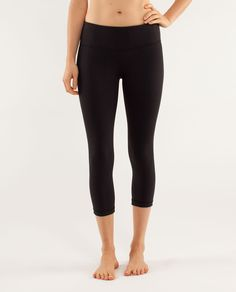 As a pianist, Mozart was a wunderkind. If he was a pair of crops, he'd be these. Lululemon Wunder Under Crop Pants