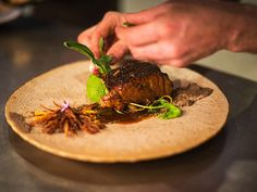 Foliage is a restaurant in Franschhoek that looks and feels like a contemporary farmhouse Wild Mushrooms, Stuffed Mushrooms, Luxury Travel, Beef, Restaurants, Food, Cape, Farmhouse, Contemporary
