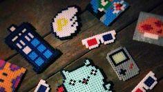geek iron on beads - Recherche Google