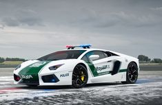 Dubai police force's latest squad #Lamborghini car