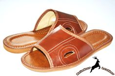 Rob Two Eyed Soft Leather Slip On