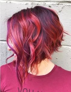 Pin by Chelsea Kovach on Hair in 2019 Love Hair, Great Hair, Short Hair Cuts, Short Hair Styles, Hair Color And Cut, Colored Short Hair, Hair Colour, Pretty Hairstyles, Korean Hairstyles